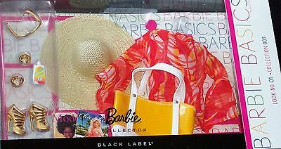 2011 BARBIE BASICS,  Fashion pack, collection 003. NO. 01
