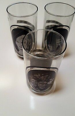 Vintage 1979 Arby's Collector's Series Glasses. 3 Glasses.