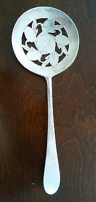 Tomato Slotted Serving Spoon International Silver Co Original Rogers Silverplate