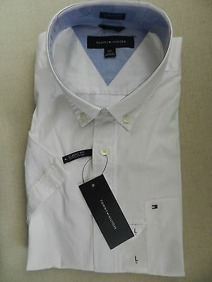 Tommy Hilfiger Short Sleeve  Men's shirt   sz Large Classic Fit New with tags