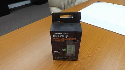 Celestron Elements ThermoCharge Hand Warmer/Charger 48012 NIB FREE SHIPPING