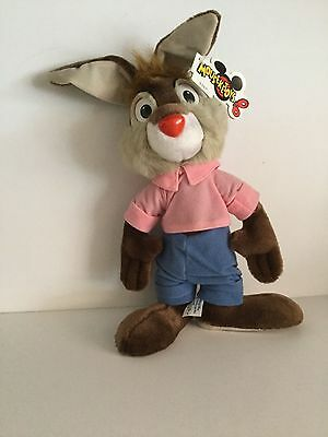 Vintage Disney Theme Parks Brer Rabbit Song Of The South Plush New w/Tag