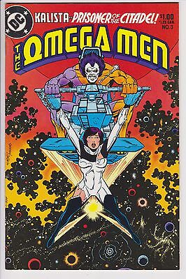 Omega Men (1983 DC) #3 NM- 1st Appearance of Lobo F5