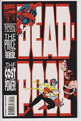 Deadpool The Circle Chase (Sep 1993, Marvel) #2 NM F5