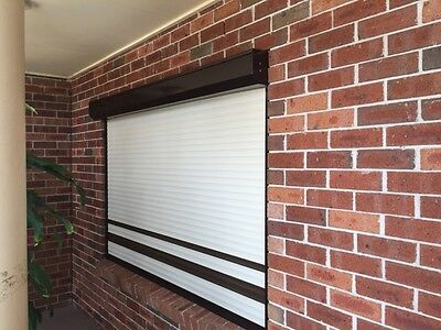 Roller Shutters DIY, Includes Motor and switch.  1.0 Metre by 1.0 Metre