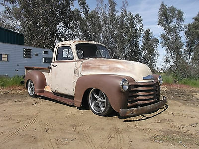 1952 Chevrolet Other 3100 Cab & Chassis 2-Door 1952 CHEVY CHEVROLET 3100 SHORT BED PICK UP TRUCK