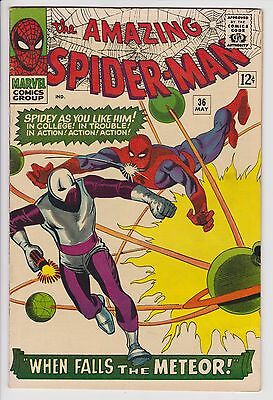Amazing Spider-Man #36 VG/F 1st Appearance of The Looter F