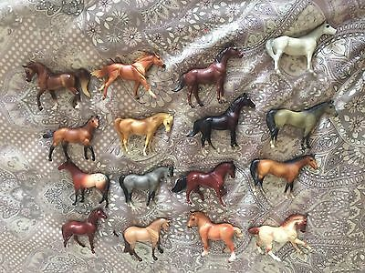 Breyer Stablemates Lot of 16- G1 G2 G3 WEG