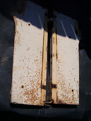 Vintage Ji Case 930 Std  Tractor -Radiator Side Panels - 1966