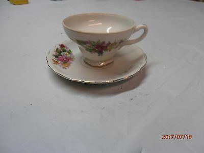 Beautiful Vintage Cup and Saucer Made in Japan