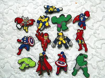C 651 US Seller Advengers Clog Plug Shoe Charms Will Also Fit Jibitz,Croc