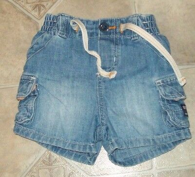 Oshkosh B'gosh ~ Baby Size 3 Months ~ Infant Denim Jean Shorts