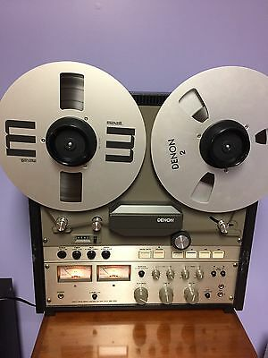 Denon DH- 510 Reel to Reel Tape Recorder Used Rare-SEE VIDEO PERFORMANCE