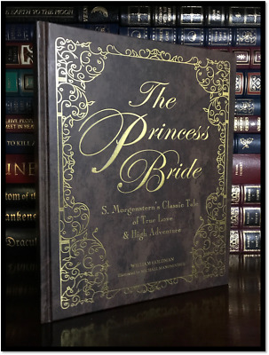 The Princess Bride Illustrated Deluxe 30th Anniversary Hardcover Gift Edition
