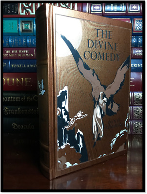 The Divine Comedy by Dante Illustrated by Dore New Leather Bound Collectible