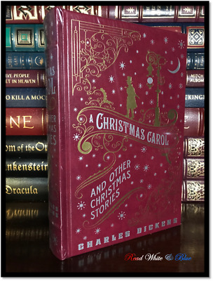 Christmas Carol & Others - Charles Dickens New Sealed Leather Bound Gift Edition