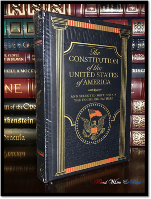 The Constitution & USA Original Writings New Sealed Leather Bound Gift Edition