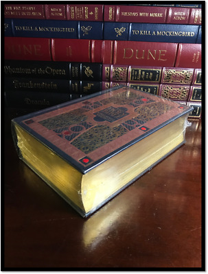 The Holy Bible KJV Illustrated By Dore New Sealed Leather Bound Gift Edition