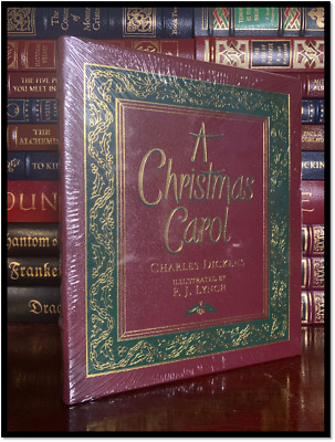 A Christmas Carol Illustrated by Robert Ingpen New Deluxe Centenary Edition