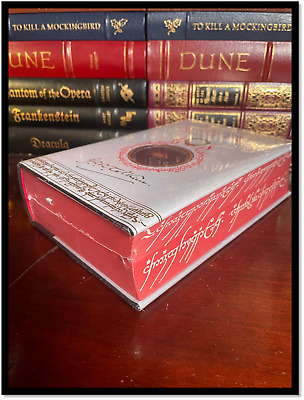 American Gods & Anansi Boys by Neil Gaiman New Sealed Leather Bound Gift Edition
