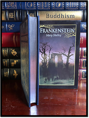 Frankenstein by Mary Shelley New Deluxe Hardback with Slipcase & Gilt Gift Ed.