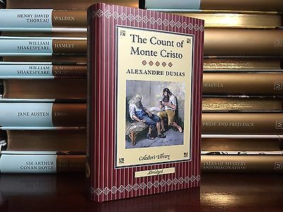 The Count of Monte Cristo by Alexandre Dumas New Deluxe Cloth Bound Collectible
