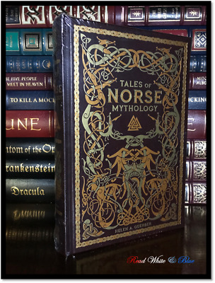 Tales of Norse Mythology Brand New Sealed Leather Bound Gift Edition Viking Age