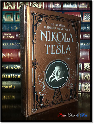 The Inventions, Researches & Writings of Nikola Tesla New Leather Bound Hardback