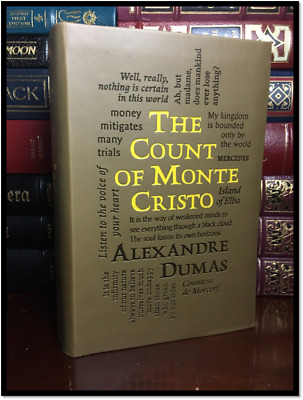 The Count of Monte Cristo by A. Dumas New Textured Soft Leather Feel Collectible