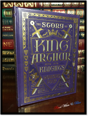 King Arthur And His Knights New Sealed Illustrated Leather Bound Gift Hardback
