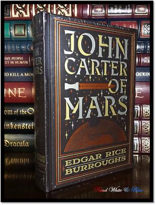 John Carter of Mars by Edgar R. Burroughs New Sealed Leather Bound Gift Edition