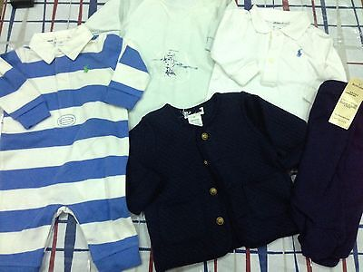 Bulk Boys baby clothes 3M Ralph Lauren