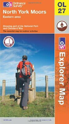 North York Moors - Eastern Area (OS Explorer Map) by Ordnance Survey Book The