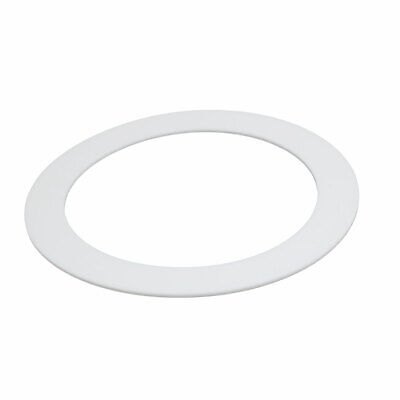 DN150 159mmx212mmx3mm PTFE Flat Washer Gasket White