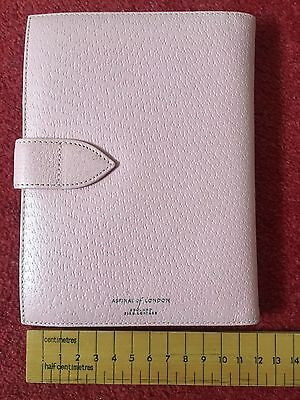 BRAND NEW Aspinal Of London Pink Leather Photo Album