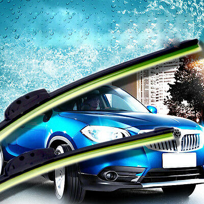 Car Bracketless Frameless Hook Rubber Windscreen Blade  Windshield Wiper U-type