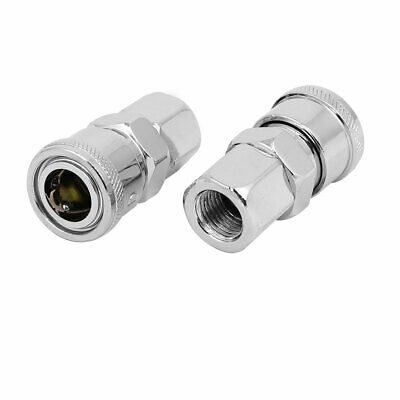 2Pcs SP20 Quick Coupler Air Hose Line Connector Coupler for Compressor8*5mm