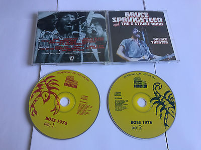 Bruce Springsteen & The E-Street Band Palace Theater Wildcard V RARE 2 CD - MINT