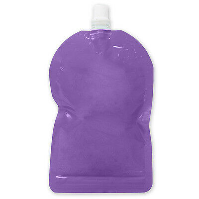 My Lil Pouch! 140ml Purple Top Spout Reusable Food Pouch - 5 pack