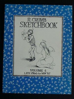 SKETCHBOOK tome 4 Late 1966 to Mid'67 CRUMB TBE