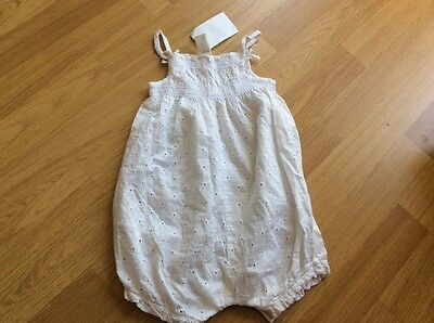 BNWT **Gorgeous** girls romper 9-12 months