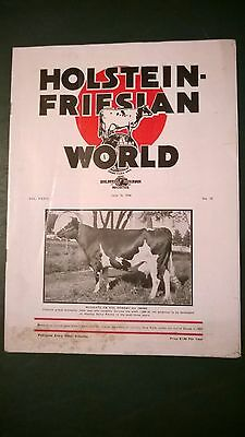 Holstein World 1936 The Indianapolis Convention + Maytag Dairy Farm Cover Story