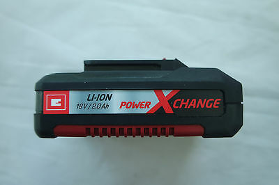 Einhell Akku 18 V  2.0 Ah Power-X-Change Art.Nr.:4511398  2 Ah