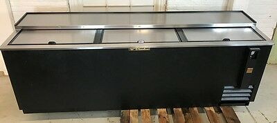 True TD-95-38 Cooler 3 Door Underbar Bottle/Can Bar Refrigeration