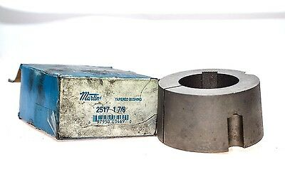 Martin 2517 1 7/8 Finished Bore With Keyway Taper Bushing Unused In Box! (G14)