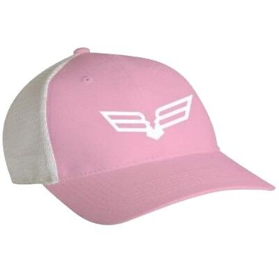 Bad Boy Off Road Trucker Bird Logo Mesh Back Cap - Polyester & Cotton - Pink