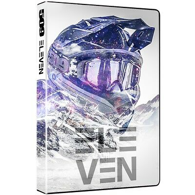 509 Volume 11 DVD Snowmobile Video Majestic Backcountry Locations U.S. & Canada