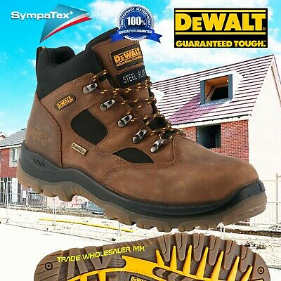 DeWALT Challenger 4 brown S3 waterproof safety boots latest model Breathable