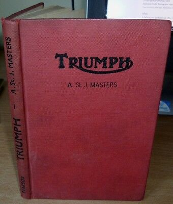 TRIUMPH MOTOR CYCLES by MASTERS A St J 1956 All Models from 1937