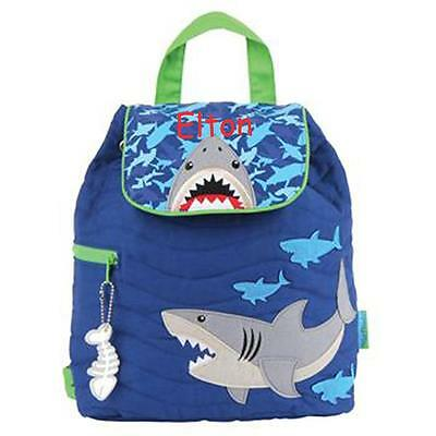 Toddler Backpack Personalized Stephen Joseph Shark New Custom Name